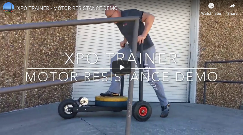 XPO TRAINER - MOTOR RESISTANCE DEMO