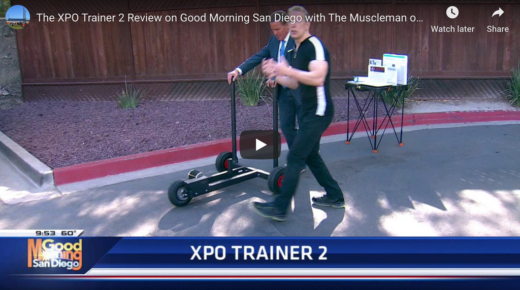 The XPO Trainer 2 Review on Good Morning San Diego with The Muscleman of Technology