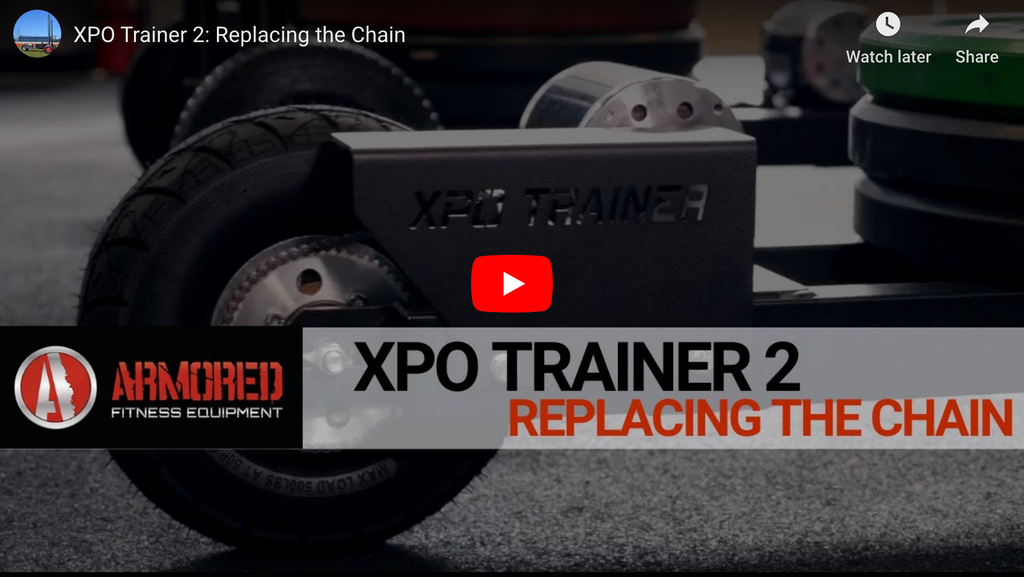 XPO TRAINER 2: Replacing the Chain