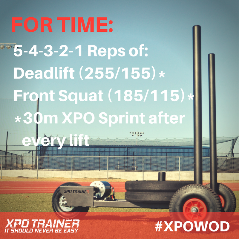 Armored Fitness - XPOWOD: Deadlifts and Front Squats!