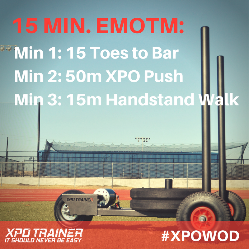 Armored Fitness - XPOWOD: Toes to Bar and Handstand Walks!