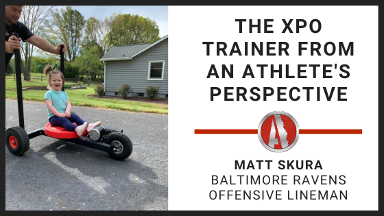 The XPO Trainer from an Athlete's Perspective - Matt Skura, Offensive Lineman for the Baltimore Ravens