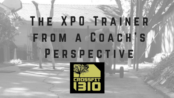The XPO Trainer from a Coach's Perspective- CrossFit 1310 in Richardson, Texas