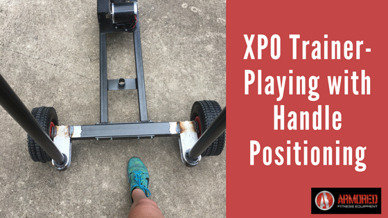 Armored Fitness XPO Trainer - Playing with Handle Positioning