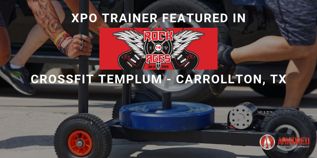 XPO Trainer featured in Rock the Ages CrossFit Competition at CrossFit Templum