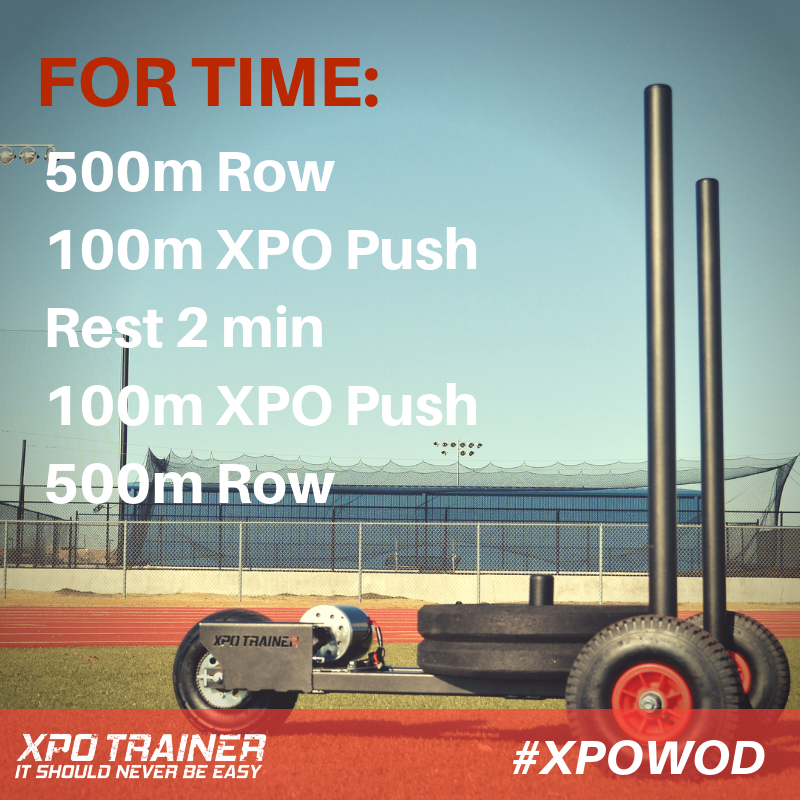 Armored Fitness Sled Workout - Row and XPO Push Killer Combo