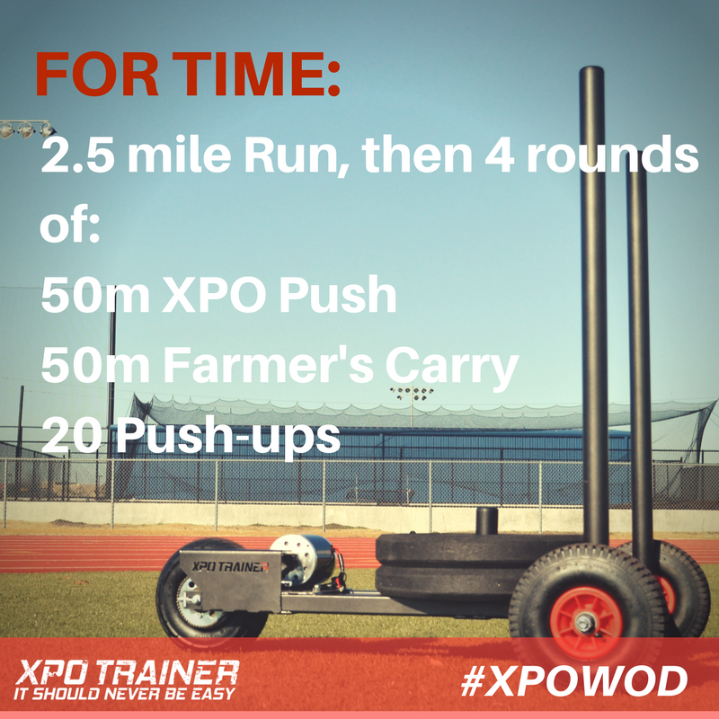 Armored Fitness - XPOWOD: Long Run