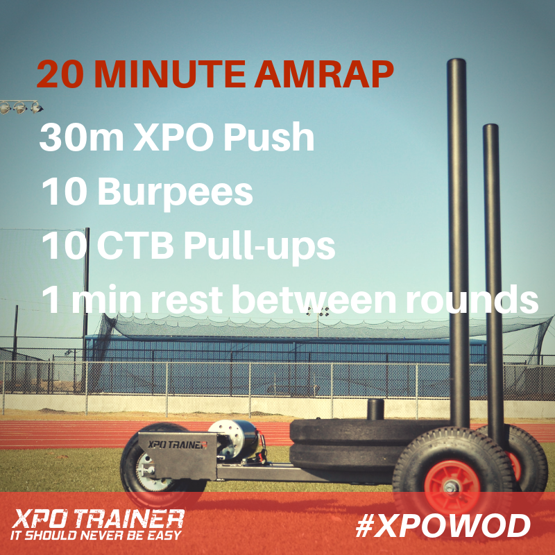 Armored Fitness Sled Workout- 20 Min AMRAP