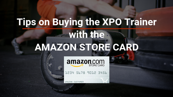 Amazon.com Store Card Offering No Interest for One Year on XPO Trainer Purchase!