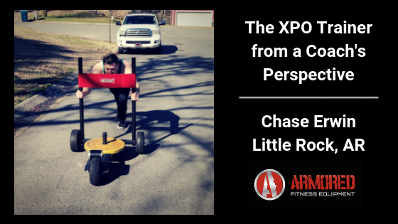 The XPO Trainer from a Coach's Perspective - Chase Erwin of Little Rock, Arkansas