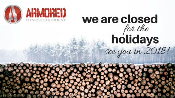 Closed for the Holidays- See you in 2018!