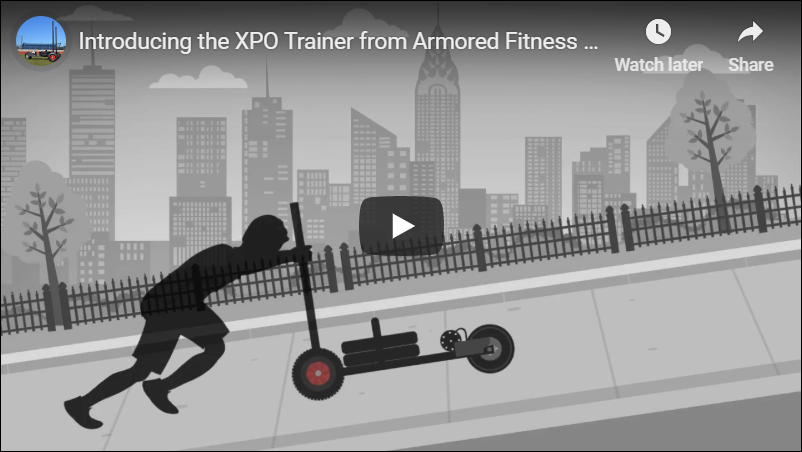 INTRODUCING THE XPO TRAINER FROM ARMORED FITNESS EQUIPMENT