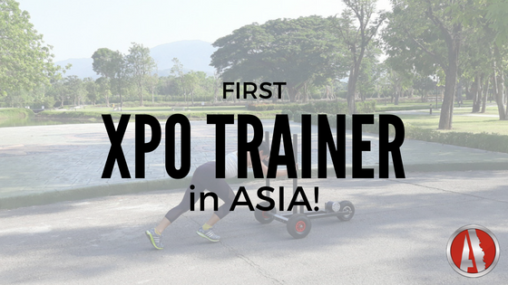 First XPO Trainer in Asia!