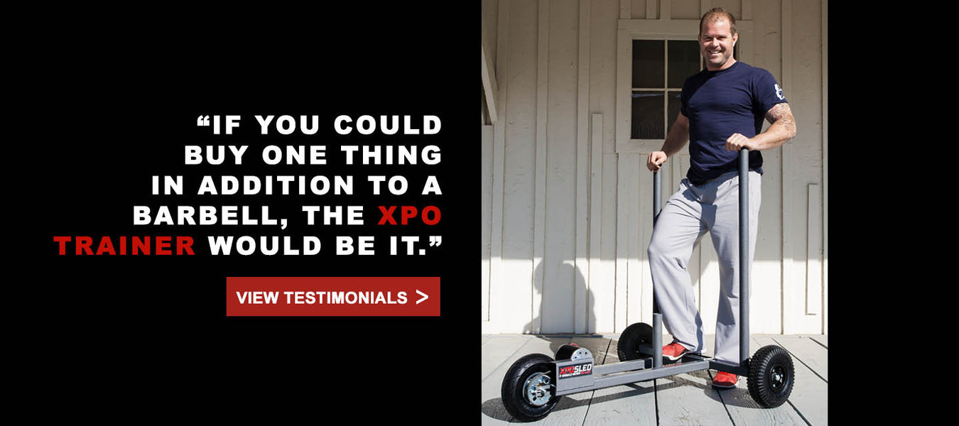 XPO Trainer push sled