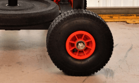 Rear Wheel Replacement Part - Armored Fitness Equipment
