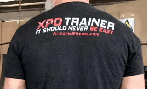 XPO Trainer T-Shirt - Armored Fitness Equipment