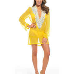 Belina Yellow Tunic