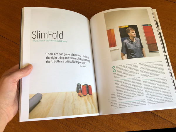 SlimFold Minimalist Wallets Featured in Content Magazine