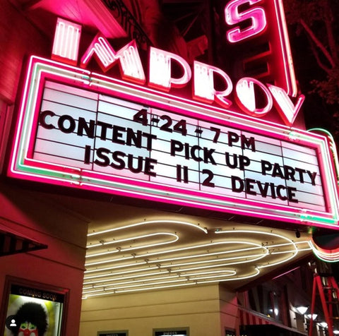 Pick-up Party at the Improv