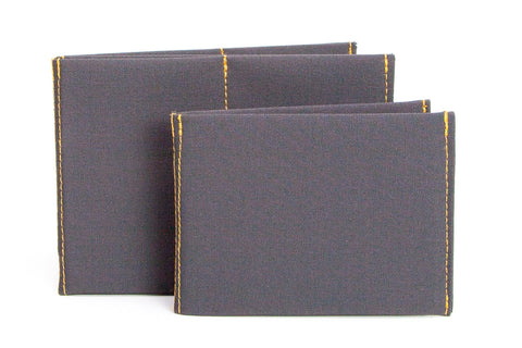 Soft Shell Charcoal Thin Wallets