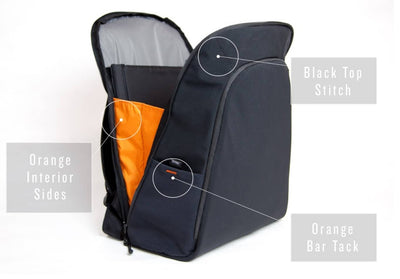 Slim Pack 2.0 Minimalist Commuter Backpack in X-Pac & Soft Shell