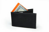 Nano Wallet With Gray Seam