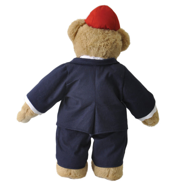 DEPLORABEAR COMES EQUIPPED WITH A BUSINESS SUIT, READY TO DEAL!