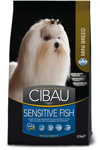 CIBAU - Sensitive Adult Mini Fish