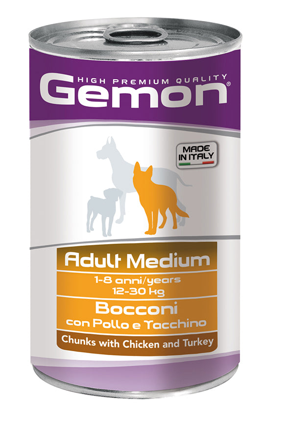 GEMON - Big Can Medium Chicken & Turkey