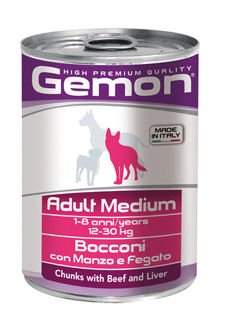 GEMON - Can Medium Beef & Liver