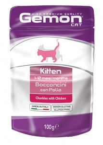 GEMON CAT - Pouch Kitten Chicken