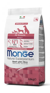 MONGE - All Breeds Adult Monoprotein Beef