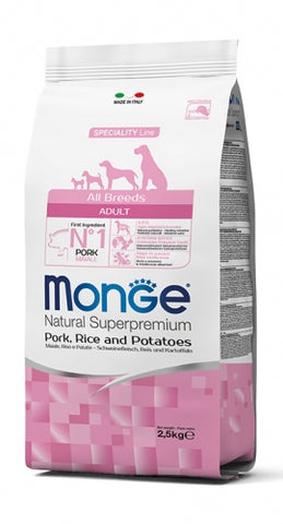 MONGE - All Breeds Adult Pork