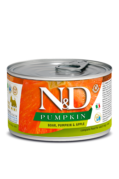 N&D - Pumpkin GF Can | Boar & Apple