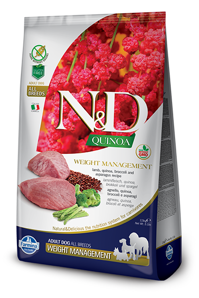 N&D - Quinoa GF Weight Management Lamb