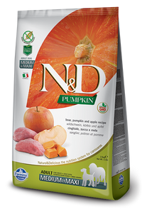 N&D - Pumpkin GF Adult Medium & Maxi Boar & Apple