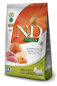 N&D - Pumpkin GF Adult Mini Boar & Apple