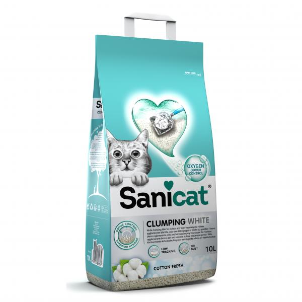 SANICAT - Clumping white