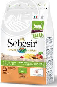 SCHESIR CAT - Bio Organic Chicken Sterilised