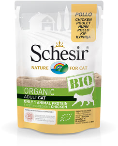 SCHESIR CAT - Bio Pouch Chicken 85gr