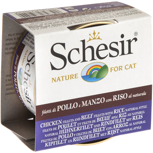 SCHESIR CAT - Classic Chicken & Beef with Rice Natural