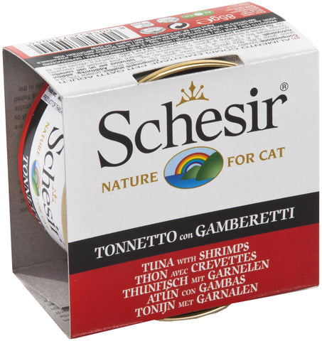 SCHESIR CAT - Classic Tuna & Shrimps