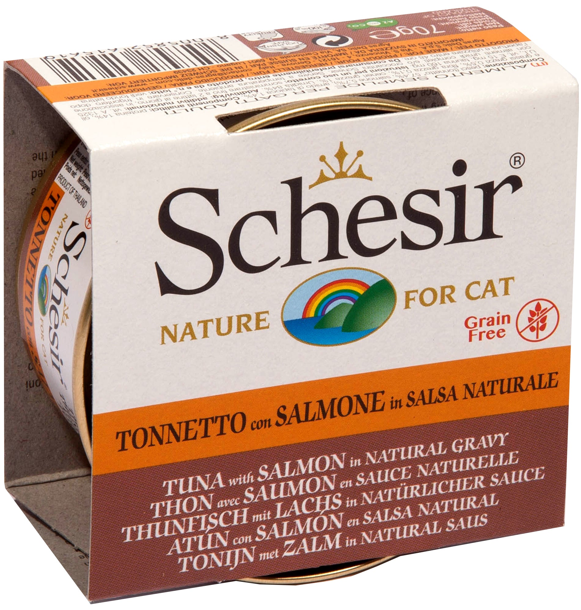 SCHESIR CAT - Natural Tuna & Salmon