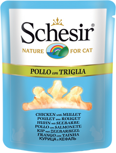 SCHESIR CAT - Pouch 70gr Chicken & Mullet