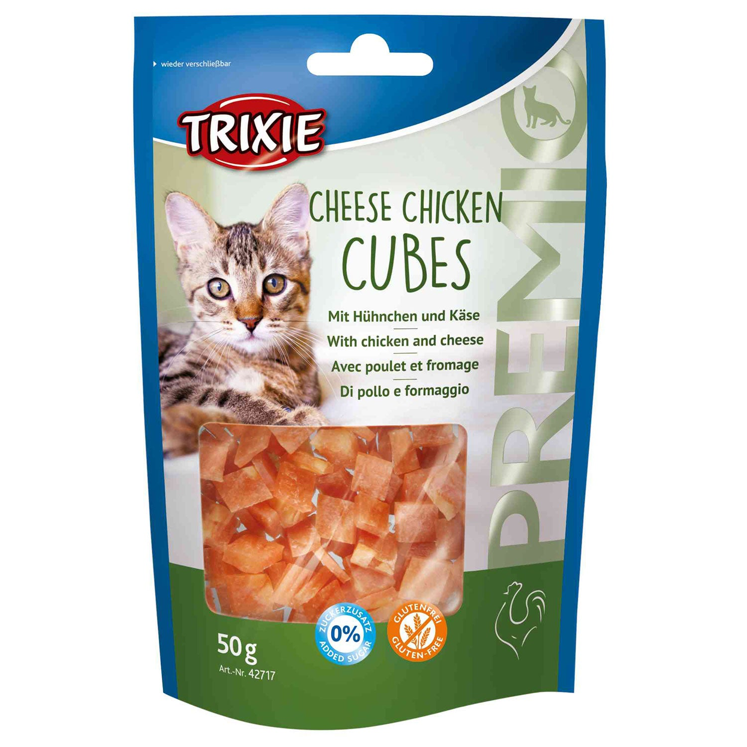 TRIXIE - Premio Cheese Chicken Cubes