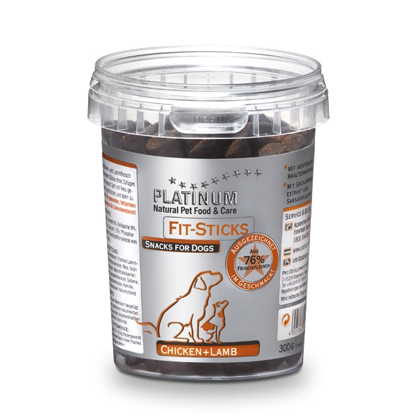Platinum fit sticks chicken lamb