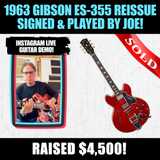 1963 Gibson ES-355 Reissue Signed & Played by Joe!