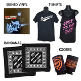Autographed Drumhead from George Thorogood and The Destroyers' Last Tour + Merch Pack!