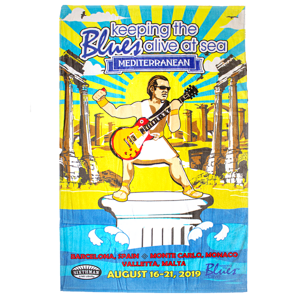 KTBA at Sea MEDITERRANEAN Towel