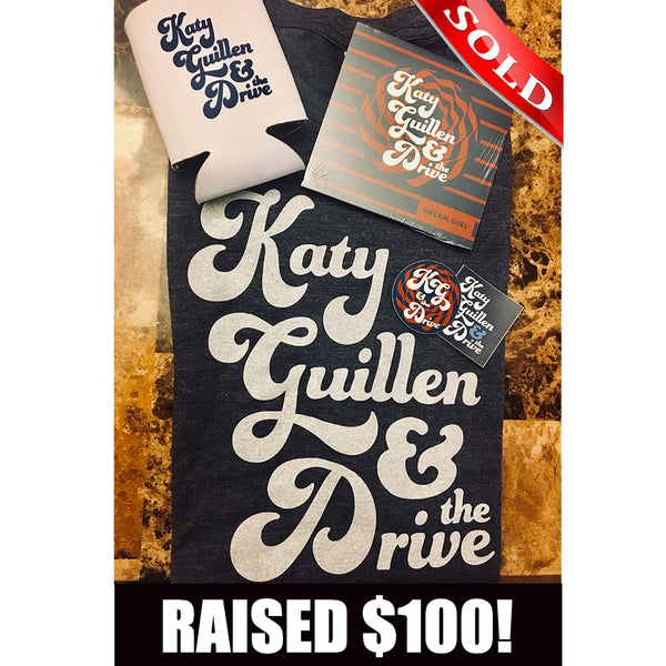 Katy Guillen & The Drive Merch Bundle *includes signed CD*